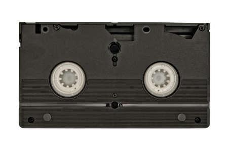 videocassette: cinta de nuevo Foto de archivo