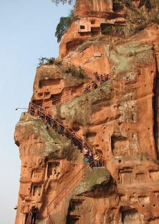 Steep descent