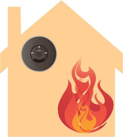Fire Alarm Ilustrace