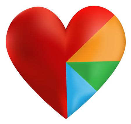closeness: Heart Color Wheel