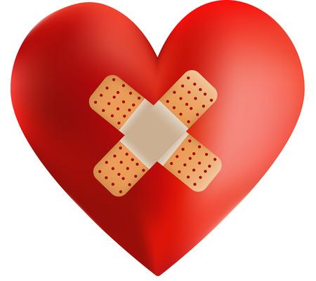 heart attack: Heart Attack Illustration