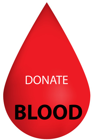 blood cell: Donate Blood