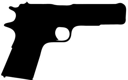 enfield: 1 Pistola Guerra Mondiale Vettoriali