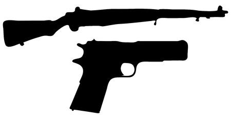 enfield: Historical Guns Illustration