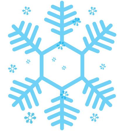 snow flake: Transparent Snow Flake