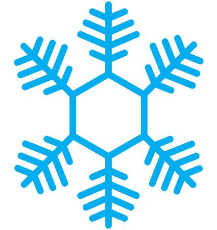snow flake: Snow Flake Illustration