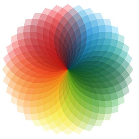 color wheel: Color Wheel Illustration