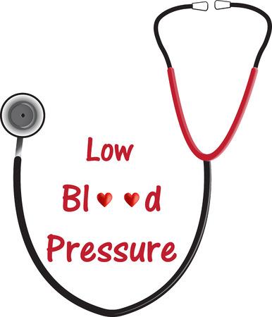 Low Blood Pressure (Hypotension) Illustration