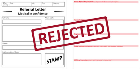 rejected: Referral Letter Rejected
