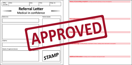 referral: Referral Letter Approved