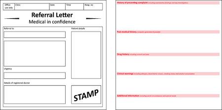 dr: Referral Letter