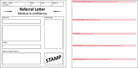 gp: Referral Letter