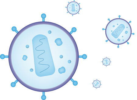 immunodeficiency: HIV Stock Photo