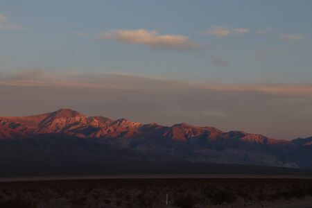 Sunset in Death Valley National Park, USA