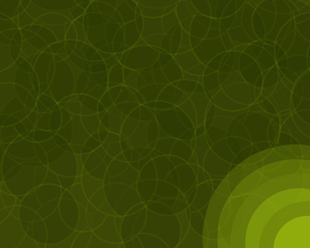Retro colored background with layered circles pattern.