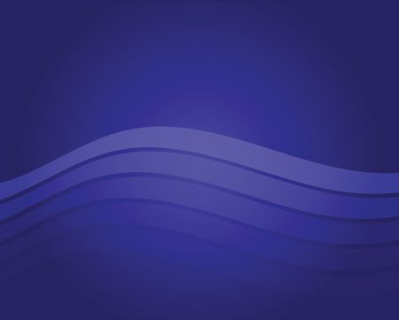 Graphic illustration of blue abstract wavy background. Фото со стока