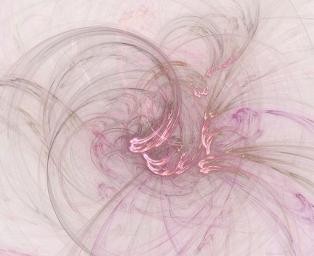 Graphic illustration of a swirly pink abstract background or wallpaper.