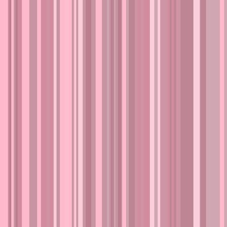 pin stripe: Graphic illustration of a background with different shades of pink stripes. Stock Photo