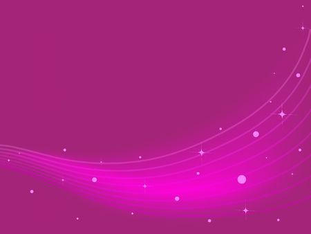 Abstract lines and sparkles against a pink gradient background. 版權商用圖片