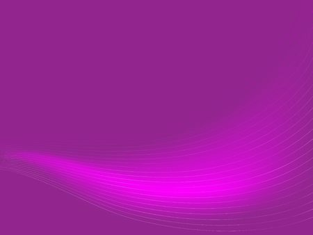 Delicate lines swoop against a purple background.