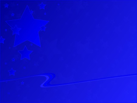 Patriotic blue stars against a blue gradient background. 版權商用圖片