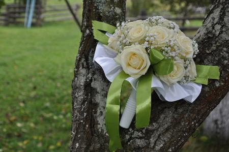 Свадебный букет цветов