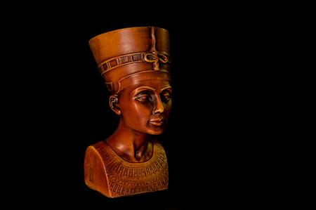 Nefertiti - Photograph of Egyptian queen Nefertiti ceramic reproduction