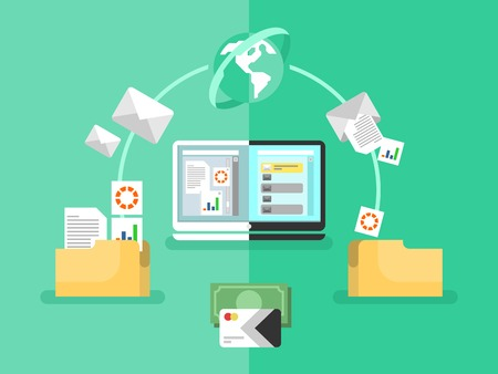 file sharing: Electronic document management