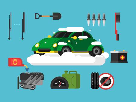 winter tire: Preparing car to winter