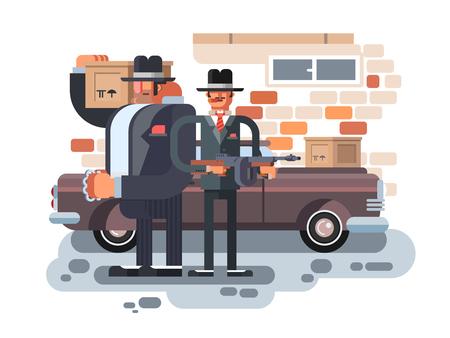 hitman: Mafia man character