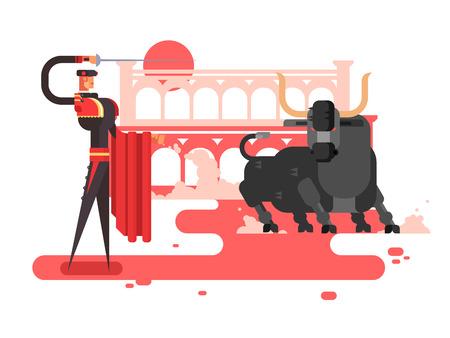 bullfighting: Bullfighting charcter man