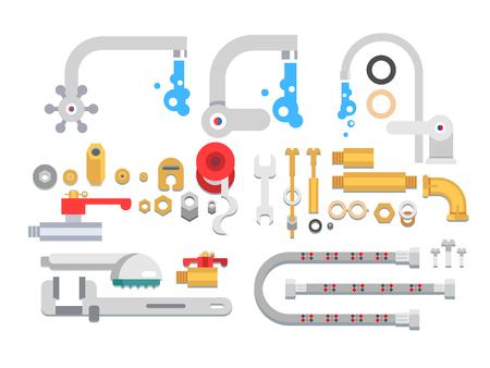 canalization: Set plumbing parts