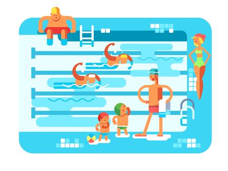 waves: Public swimming pool