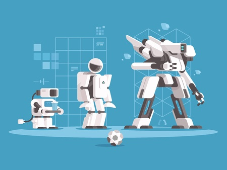 Evolution of robotics