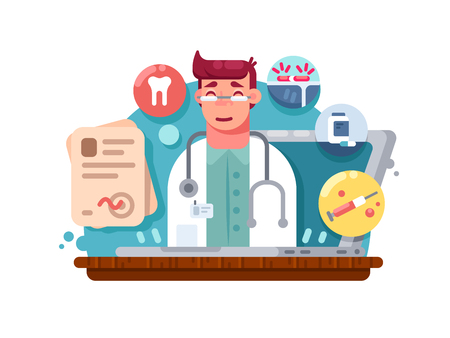 Service online doctor