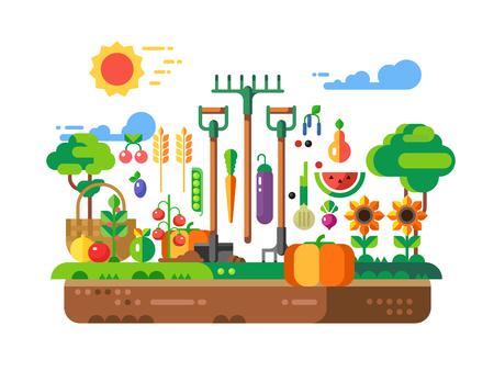 fruitage: Gardening Design concept