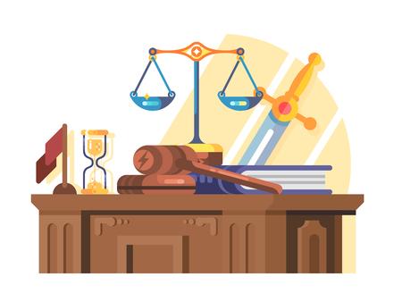 Jurisprudencia, tribunal, y, ley, concepto, plano