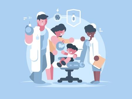 Children medical vaccination