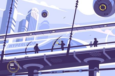 Hyperloop future public transport