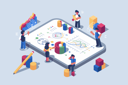 Data analytics systems software for mobile devices