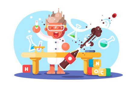 Boy chemist