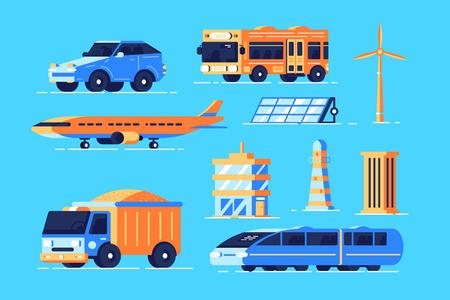 Urban transport set