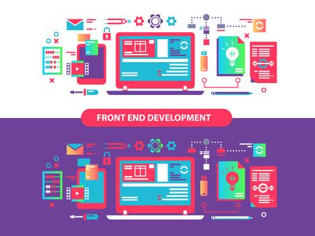 Frente y desarrollo