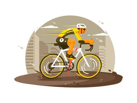 Sport athlete cyclist 版權商用圖片 - 125094960