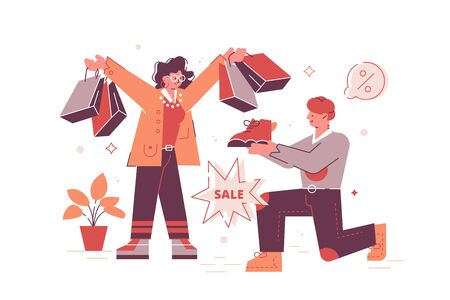 Favorable shopping sale