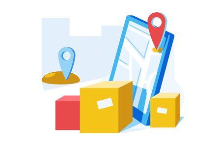 Online delivery service Zdjęcie Seryjne - 146726624