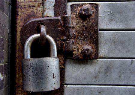 no entrance: Lock