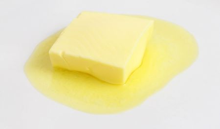 Melting butter Zdjęcie Seryjne