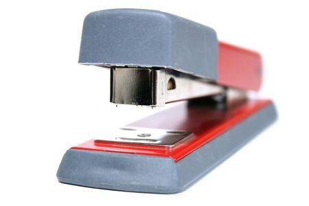 office stapler: Stapling machine Stock Photo
