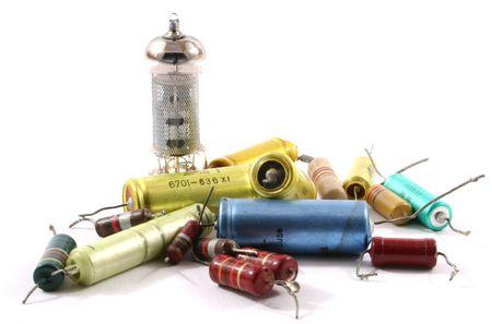 Electronic parts Stock fotó
